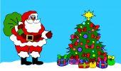 Santa Clause Christmas Tree