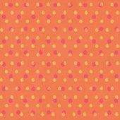 Orange Polkadot Pattern