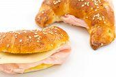 savory croissants