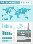 image of shale  - Shale Gas Infographic Template - JPG