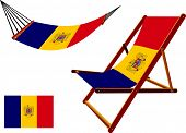 Romania Hammock And Deck Chair Set