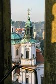 View On Saint Nicholas Church In Prague