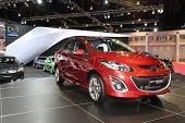 Bangkok - March 26: Mazda New Masda2 On Display At The 34Th Bangkok International Motor Show On Marc