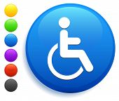Disabled Icon on Round Button Collection