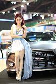 Bangkok - March 26: Black Hyundai Velaster Car On Display At The 34Th Bangkok International Motor Sh