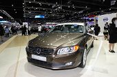 Nonthaburi - November 28: Volvo S80 Car On Display At The 30Th Thailand International Motor Expo On