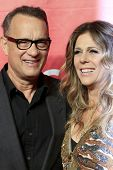 LOS ANGELES - JAN 24:  Tom Hanks, Rita Wilson at the 2014 MusiCares Person of the Year Gala in honor of Carole King at Los Angeles Convention Center on January 24, 2014 in Los Angeles, CA