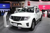Nonthaburi - November 28: Nissan Navara Car On Display At The 30Th Thailand International Motor Expo