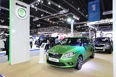 Nonthaburi - November 28: Skoda Car On Display At The 30Th Thailand International Motor Expo On Nove