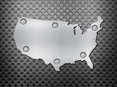 Usa Metal Map