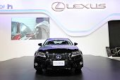 Nonthaburi - November 28: Lexus Gs 300H Car On Display At The 30Th Thailand International Motor Expo