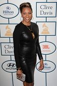 BEVERLY HILLS, CA. - JANUARY 25: MC Lyte arrives at the Clive Davis and The Recording Academy annual