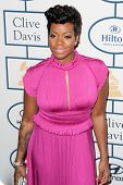 BEVERLY HILLS, CA. - JANUARY 25: Fantasia arrives at the Clive Davis and The Recording Academy annua