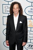 BEVERLY HILLS, CA. - JANUARY 25: Kenny G arrives at the Clive Davis and The Recording Academy annual
