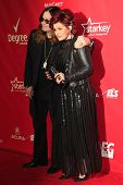 LOS ANGELES - JAN 24: Ozzy Osbourne, Sharon Osbourne at the 2014 MusiCares Person Of The Year event