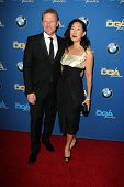 LOS ANGELES - JAN 25:  Kevin McKidd, Sandra Oh at the 66th Annual Directors Guild of America Awards