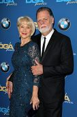 LOS ANGELES - JAN 25:  Helen Mirren, Taylor Hackford at the 66th Annual Directors Guild of America A
