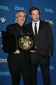 LOS ANGELES - JAN 25:  Alfonso Cuaron, Ben Affleck at the 66th Annual Directors Guild of America Awa