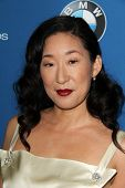 LOS ANGELES - JAN 25:  Sandra Oh at the 66th Annual Directors Guild of America Awards at Century Pla