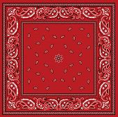 picture of red-necked  - Red bandana - JPG