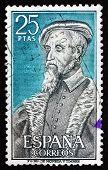Postage Stamp Spain 1967 Andres Laguna De Segovia, Physician