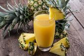Fresh Made Pineapple Juice
