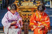 Japanese Women in Kyoto