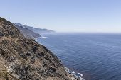 Central California's rugged coastline along Pacific Coast Highway in Big Sur.