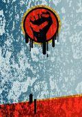Fist Grunge Background.eps