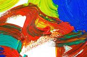 Oil paints abstract background