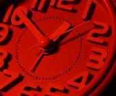 Clock Face Ticking