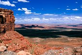 View of Valley of the Gods from the Moki Dugway