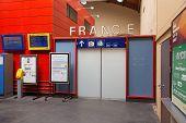 Door into France