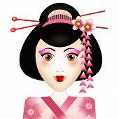 Geisha Portrait
