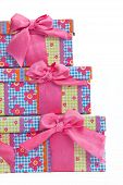 Set Of Matched Colorful Party Gifts