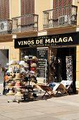Tourist shop, Malaga.