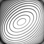 Design Monochrome Whirl Circular Movement Background