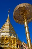Doi Suthep Temple In Thailand