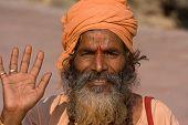 Indian Sadhu , Holy Man