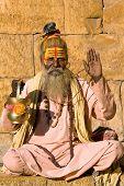 Indian Sadhu (holy Man)