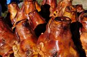 Roasted  Pig's Heads In South America