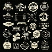picture of bow arrow  - Collection of vintage labels - JPG