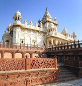 Jaswant Thada mausoleum in Jodhpur India