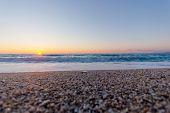 Beautiful Sunset And Beach