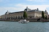 Musee d'Orsay, River Seine, Paris, France