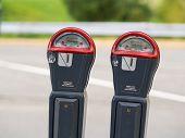 Two Parking Meter