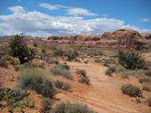 The otherworldly landscape around Moab