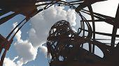Steel ruins