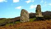 stock photo of megaliths  - Megaliths Argimusco - Montalbano Helicon, Sicily ,