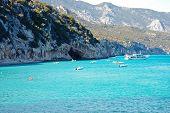 Cala Luna.Emerald waters in Sardinia
